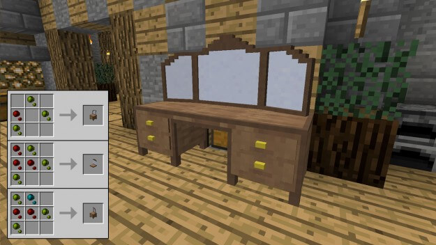 Double Crafting Table Mod